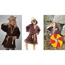 Tunique de Viking - Costume 5-10 ans