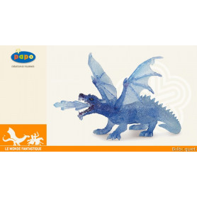 Dragon de cristal - Figurine fantastique