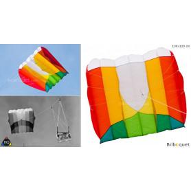 Kap Foil 1.6 - Cerf-volant monofil pour la photo aérienne