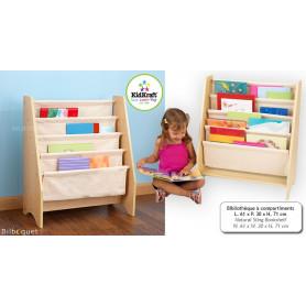 Bibliothèque à compartiments - Meuble pour chambre d'enfant