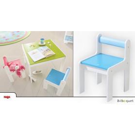 Chaise enfant Puncto - Bleu - Mobilier enfant