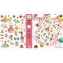 Le thé des princesses - 160 Stickers Design By Marie Desbons