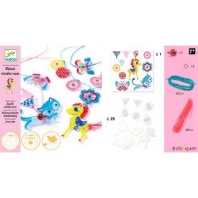 Plastique magique Bijoux le chaton et le poney Design By