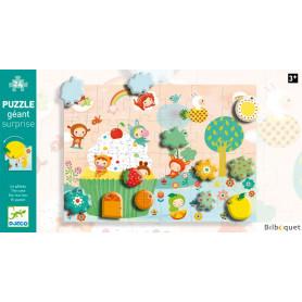 Puzzle géant surprise 24 pièces - Le gateau