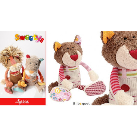 Peluche doudou Sweety Chat