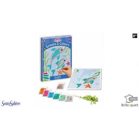 Sequins & Colours - Dauphins - Collection Art & Créations