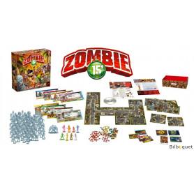 Zombie 15' - Jeu de plateau coopératif