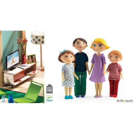 La famille de Gaspard & Romy - Petit Home by Djeco