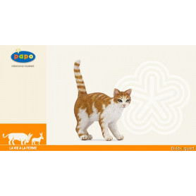 Chat roux - Animal figurine