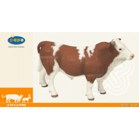 Taureau Simmental - Animal de la ferme