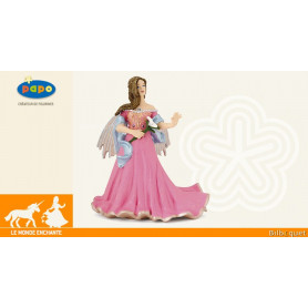 Elfe rose au lys - Personnage Figurine