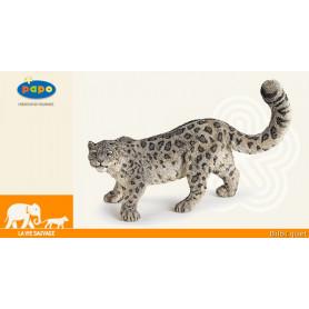 Léopard des neiges - Figurine jouet