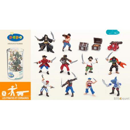 Mini Tub's pirates et corsaires - 12 mini figurines