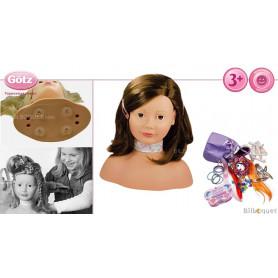 Tête à coiffer et à maquiller Götz