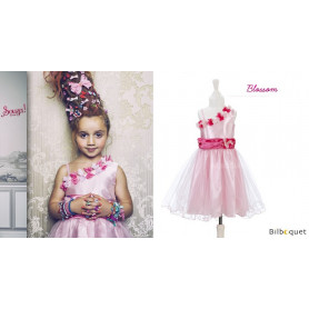 Robe rose blossom - Déguisement Fille