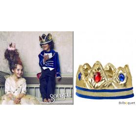 La couronne du roi Louis - Accessoire déguisement enfant