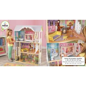 Maison de poupées meublée Kaylee