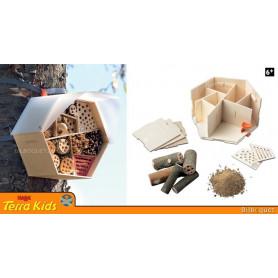 Hôtel pour insectes - Kit d'assemblage Terra Kids
