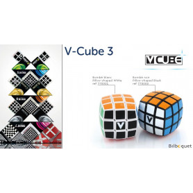 V-CUBE™ 3 Bombé - Blanc