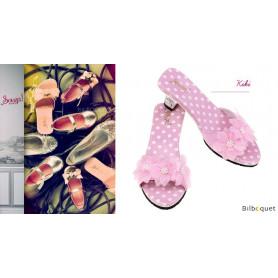 Mules roses Kiki - Accessoires pour les filles