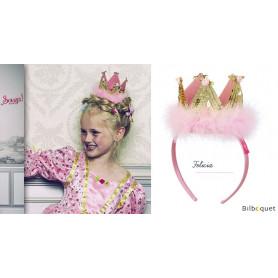 Tiare dorée Félicia - Accessoire pour déguisement enfant