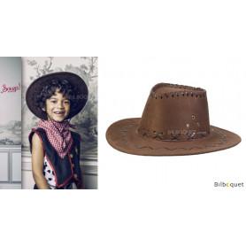 Chapeau Shérif Alec - Déguisement enfant