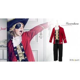 Costume Capitaine Maximiliano - Déguisement garçon