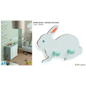 Patère en bois Lapin - Little Big Room