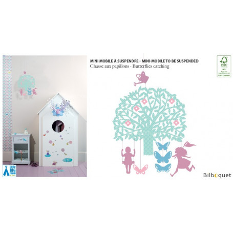 Mini mobile Chasse aux papillons - Little Big Room