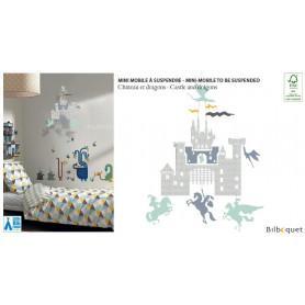 Mini mobile Château et dragons - Little Big Room