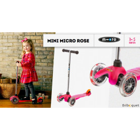Mini Micro Rose - Trottinette 3-5 ans
