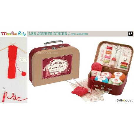 Valise de couture - Les jouets d'hier