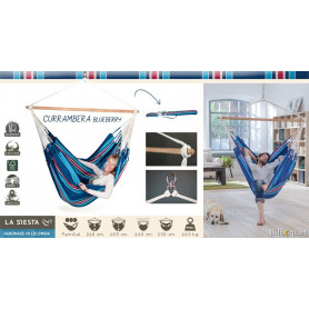 Chaise hamac lounger Currambera Blueberry