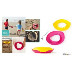 Sunnylove - Moules magiques soleil & coeur - Jouets de plage
