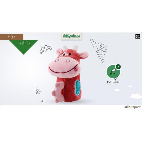 Mini-hochet ding dong - Vicky la vache