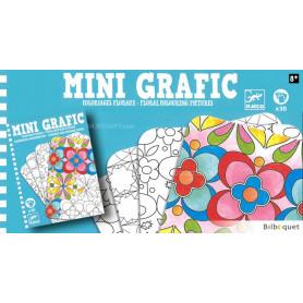 Jeu Mini Grafic Coloriages floraux