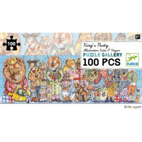 Puzzle Gallery La fête du Roi (100 pièces)