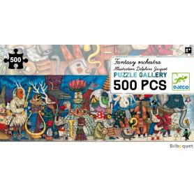Orchestre fantastique - Puzzle Gallery 500 pièces