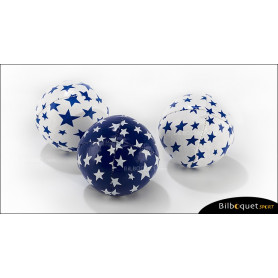 Set de 3 balles à grains 80g Ø60mm