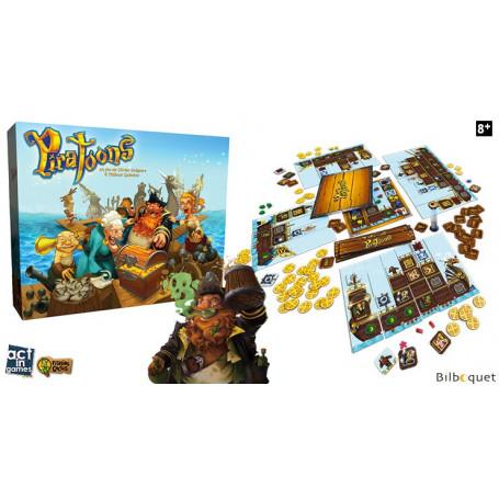 Piratoons - Jeu de pirates