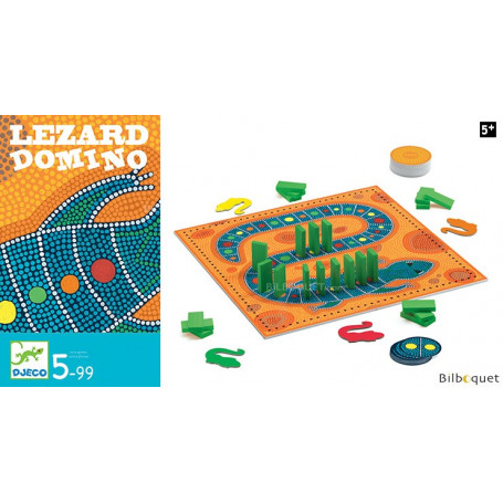 Lézard Domino - Jeu d'adresse
