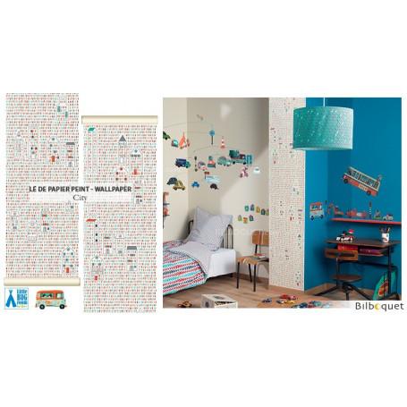 Lé de papier peint City - Little Big Room