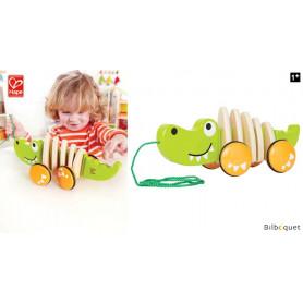 Crocodile - Jouet à tirer en bois