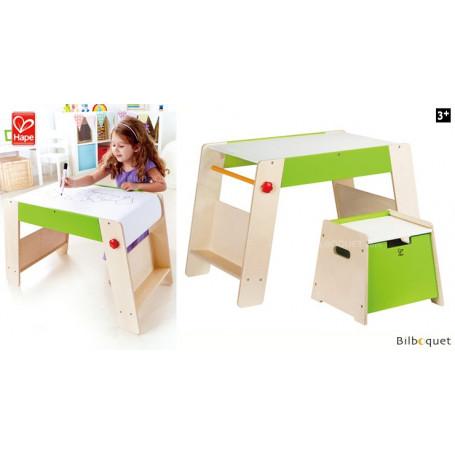 Table et tabouret pour chambre d'enfant