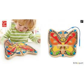 Labyrinthe aimanté Papillon - Jeu en bois