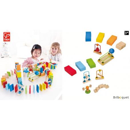 Dynamo Dominos (107 pièces) - Premières constructions en bois