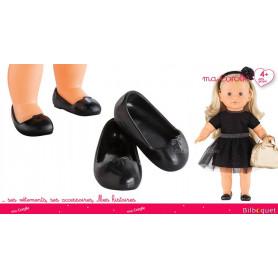 Ballerines Noires pour Poupée Ma Corolle 36cm