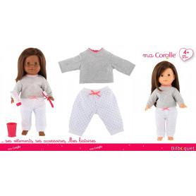 Pyjama 2 pièces pour Poupée Ma Corolle 36cm