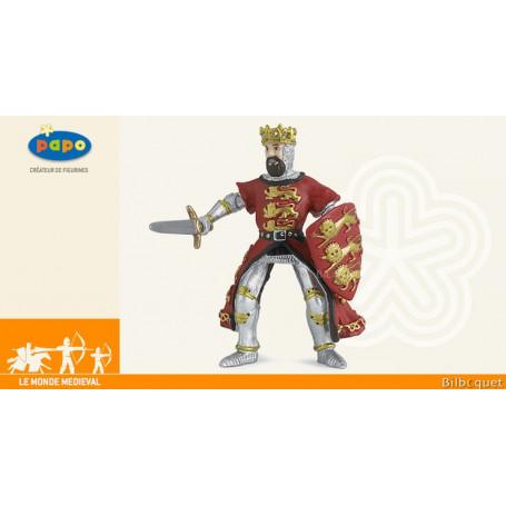 Roi Richard rouge - Figurine en plastique