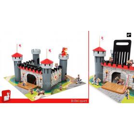 Château fort Dragon - Jouet en bois